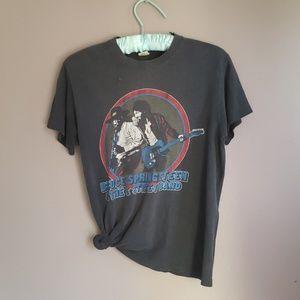 Vintage 1980 Bruce Springsteen World Tour T Shirt